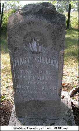 JEFFRIES GILLIAN, MARY - Clay County, Missouri | MARY JEFFRIES GILLIAN - Missouri Gravestone Photos