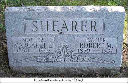 SHEARER, ROBERT M. - Clay County, Missouri | ROBERT M. SHEARER - Missouri Gravestone Photos