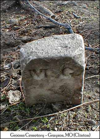 G., M. - Clinton County, Missouri | M. G. - Missouri Gravestone Photos