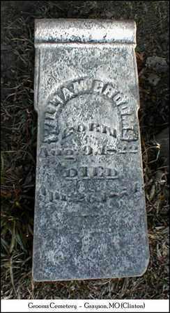 GROOMS, WILLIAM M. - Clinton County, Missouri | WILLIAM M. GROOMS - Missouri Gravestone Photos
