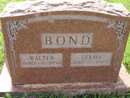 BOND, ZELMA ARDEN - Cole County, Missouri | ZELMA ARDEN BOND - Missouri Gravestone Photos