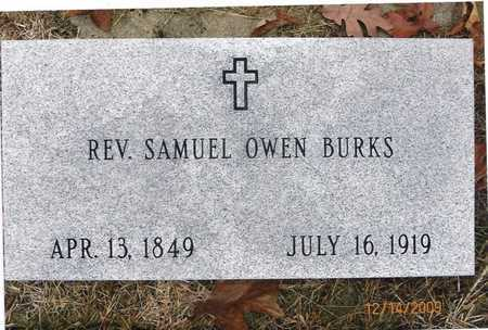 BURKS, SAMUEL OWEN REV - Cole County, Missouri   SAMUEL OWEN REV BURKS - Missouri Gravestone Photos