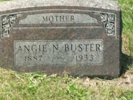 BUSTER, ANGIE NETTIE - Cole County, Missouri | ANGIE NETTIE BUSTER - Missouri Gravestone Photos
