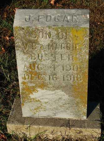BUSTER, J EDGAR - Cole County, Missouri | J EDGAR BUSTER - Missouri Gravestone Photos