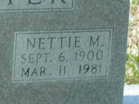 BUSTER, NETTIE M - Cole County, Missouri | NETTIE M BUSTER - Missouri Gravestone Photos