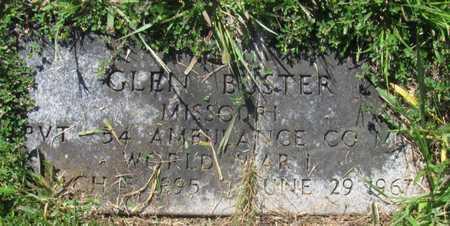 BUSTER, GLEN VETERAN - Cole County, Missouri | GLEN VETERAN BUSTER - Missouri Gravestone Photos