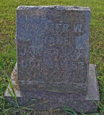 CRANE, WALTER W - Cole County, Missouri   WALTER W CRANE - Missouri Gravestone Photos