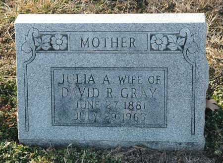 GRAY, JULIA A - Cole County, Missouri   JULIA A GRAY - Missouri Gravestone Photos
