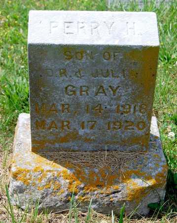 GRAY, PERRY HOMER - Cole County, Missouri | PERRY HOMER GRAY - Missouri Gravestone Photos