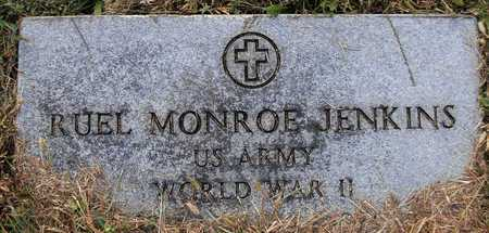 JENKINS, RUEL MONROE VETERAN WWII - Cole County, Missouri | RUEL MONROE VETERAN WWII JENKINS - Missouri Gravestone Photos