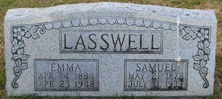 LASSWELL, MANDA EMMALINE - Cole County, Missouri | MANDA EMMALINE LASSWELL - Missouri Gravestone Photos