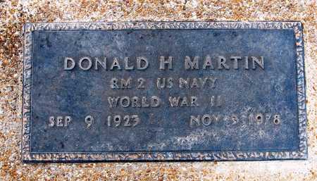 MARTIN, DONALD H.  VETERAN WWII - Cole County, Missouri | DONALD H.  VETERAN WWII MARTIN - Missouri Gravestone Photos