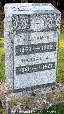 ROBERTS, HANNAH JANE - Cole County, Missouri | HANNAH JANE ROBERTS - Missouri Gravestone Photos