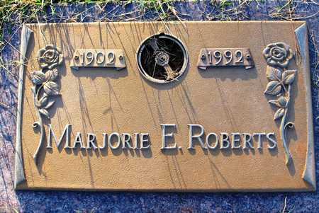 ROBERTS, MARJORIE E - Cole County, Missouri | MARJORIE E ROBERTS - Missouri Gravestone Photos