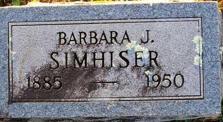 "WILLIAMS SIMHISER, BARBARA JANE ""JENNIE"" - Cole County, Missouri | BARBARA JANE ""JENNIE"" WILLIAMS SIMHISER - Missouri Gravestone Photos"