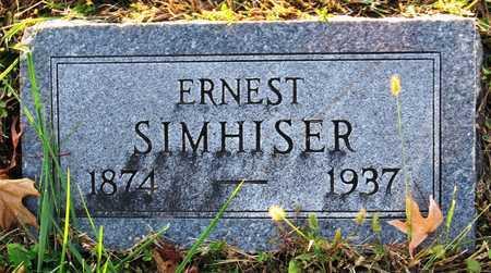 SIMHISER, ERNEST AARON BEN - Cole County, Missouri | ERNEST AARON BEN SIMHISER - Missouri Gravestone Photos