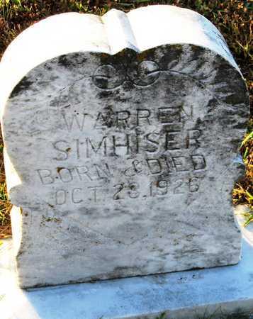 SIMHISER, JAMES WARREN - Cole County, Missouri   JAMES WARREN SIMHISER - Missouri Gravestone Photos