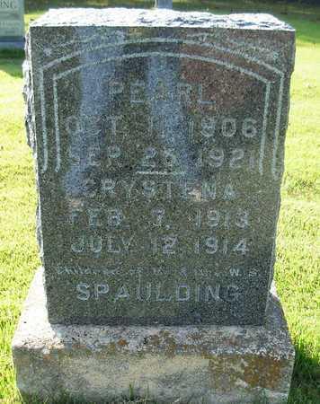 SPALDING, CRYSTENA - Cole County, Missouri | CRYSTENA SPALDING - Missouri Gravestone Photos