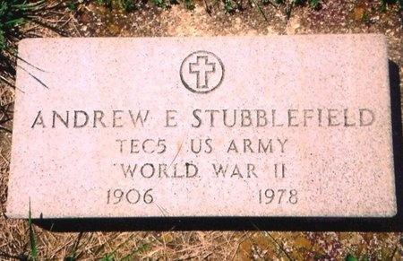 STUBBLEFIELD, ANDREW ERVIN (VETERAN WWII) - Crawford County, Missouri | ANDREW ERVIN (VETERAN WWII) STUBBLEFIELD - Missouri Gravestone Photos