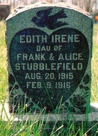 STUBBLEFIELD, EDITH IRENE - Crawford County, Missouri | EDITH IRENE STUBBLEFIELD - Missouri Gravestone Photos