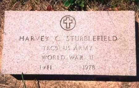 STUBBLEFIELD, HARVEY CLARENCE (VETERAN WWII) - Crawford County, Missouri   HARVEY CLARENCE (VETERAN WWII) STUBBLEFIELD - Missouri Gravestone Photos