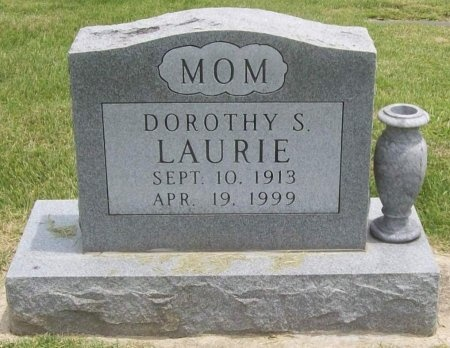 LAURIE, DOROTHY S. - Dallas County, Missouri | DOROTHY S. LAURIE - Missouri Gravestone Photos