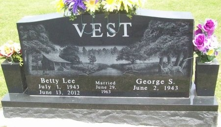 VEST, BETTY LEE - Dallas County, Missouri   BETTY LEE VEST - Missouri Gravestone Photos