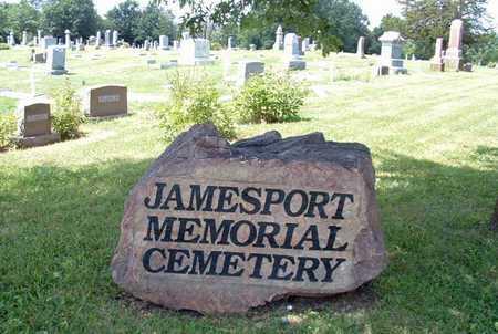 JAMESPORT MEMORIAL, * - Daviess County, Missouri   * JAMESPORT MEMORIAL - Missouri Gravestone Photos