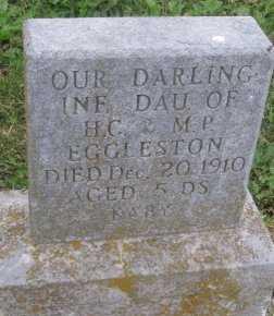 EGGLESTON, INFANT DAUGHTER - DeKalb County, Missouri | INFANT DAUGHTER EGGLESTON - Missouri Gravestone Photos