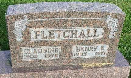 MILLER FLETCHALL, CLAUDINE - DeKalb County, Missouri | CLAUDINE MILLER FLETCHALL - Missouri Gravestone Photos