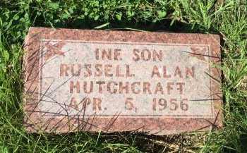 HUTCHCRAFT, RUSSELL ALAN - DeKalb County, Missouri   RUSSELL ALAN HUTCHCRAFT - Missouri Gravestone Photos