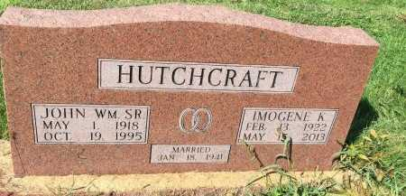 HUTCHCRAFT, IMOGENE K. - DeKalb County, Missouri | IMOGENE K. HUTCHCRAFT - Missouri Gravestone Photos