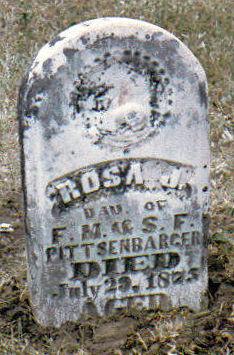 PITTSENBARGAR, ROSA JANE - DeKalb County, Missouri | ROSA JANE PITTSENBARGAR - Missouri Gravestone Photos