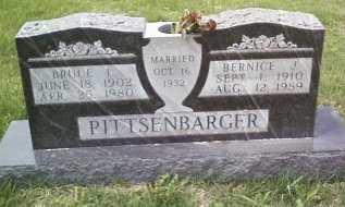 PITTSENBARGER, BRUCE LEONARD - DeKalb County, Missouri | BRUCE LEONARD PITTSENBARGER - Missouri Gravestone Photos