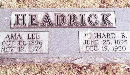 HEADRICK, AMA LEE - Dent County, Missouri   AMA LEE HEADRICK - Missouri Gravestone Photos