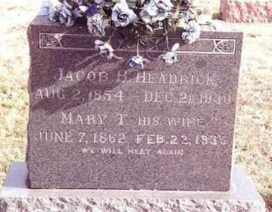 HEADRICK, MARY TENNESSEE - Dent County, Missouri | MARY TENNESSEE HEADRICK - Missouri Gravestone Photos