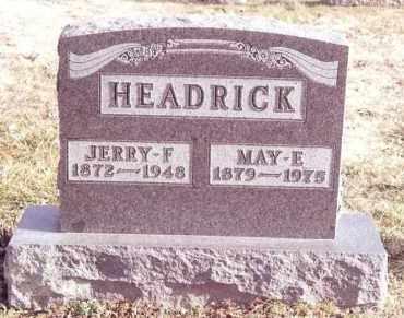 HEADRICK, MAY E. - Dent County, Missouri   MAY E. HEADRICK - Missouri Gravestone Photos