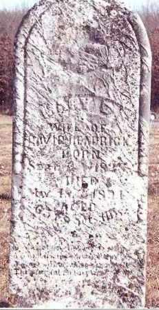 HEADRICK, MARY - Dent County, Missouri | MARY HEADRICK - Missouri Gravestone Photos
