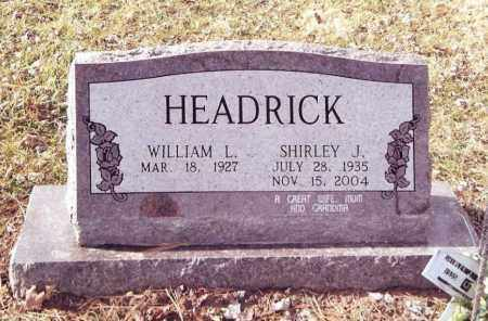 HEADRICK, SHIRLEY J. - Dent County, Missouri | SHIRLEY J. HEADRICK - Missouri Gravestone Photos