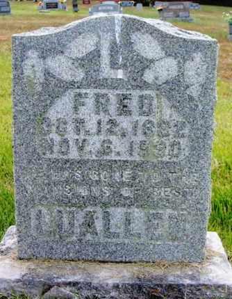 LUALLEN, FRED - Douglas County, Missouri | FRED LUALLEN - Missouri Gravestone Photos