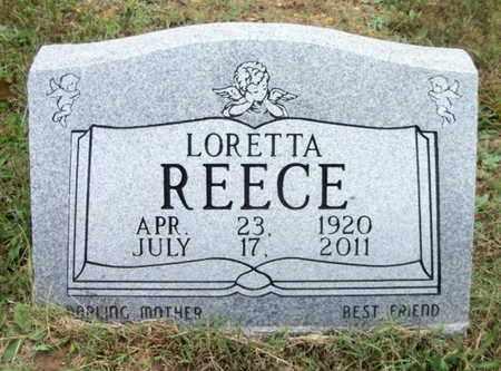 REECE, LORETTA - Douglas County, Missouri | LORETTA REECE - Missouri Gravestone Photos