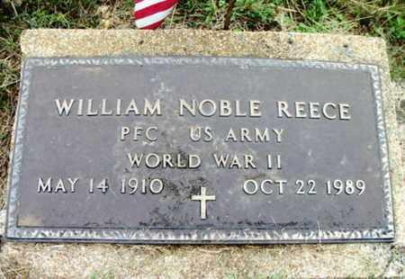 REECE, WILLIAM NOBLE VETERAN WWII - Douglas County, Missouri | WILLIAM NOBLE VETERAN WWII REECE - Missouri Gravestone Photos