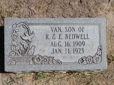 BEDWELL, VAN - Dunklin County, Missouri   VAN BEDWELL - Missouri Gravestone Photos