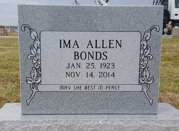 BONDS, IMA - Dunklin County, Missouri   IMA BONDS - Missouri Gravestone Photos