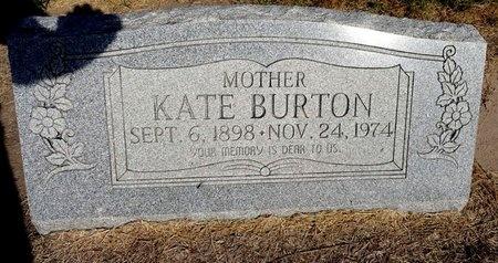 BURTON, KATE - Dunklin County, Missouri | KATE BURTON - Missouri Gravestone Photos