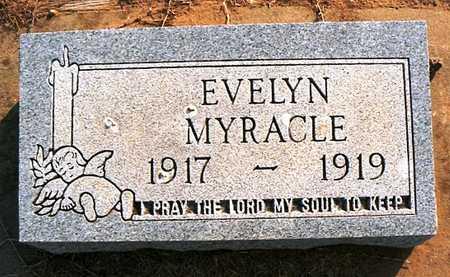 MYRACLE, EVELYN - Dunklin County, Missouri   EVELYN MYRACLE - Missouri Gravestone Photos