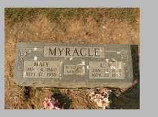 MYRACLE, LAWRENCE WASHINGTON - Dunklin County, Missouri   LAWRENCE WASHINGTON MYRACLE - Missouri Gravestone Photos