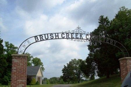 *BRUSH CREEK CEMETERY ENTRANCE,  - Franklin County, Missouri |  *BRUSH CREEK CEMETERY ENTRANCE - Missouri Gravestone Photos
