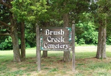 *BRUSH CREEK CEMETERY SIGN,  - Franklin County, Missouri |  *BRUSH CREEK CEMETERY SIGN - Missouri Gravestone Photos