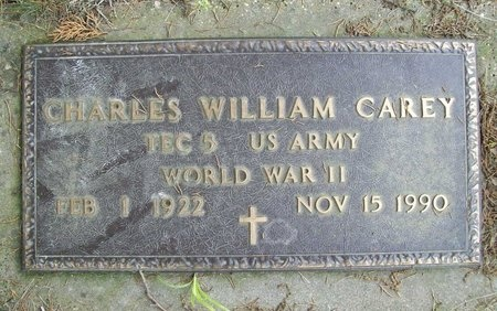 CAREY, CHARLES WILLIAM (VETERAN WWII) - Franklin County, Missouri | CHARLES WILLIAM (VETERAN WWII) CAREY - Missouri Gravestone Photos